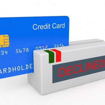 What to do when a credit card is declined