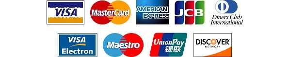 Credit Cards Instabill can process
