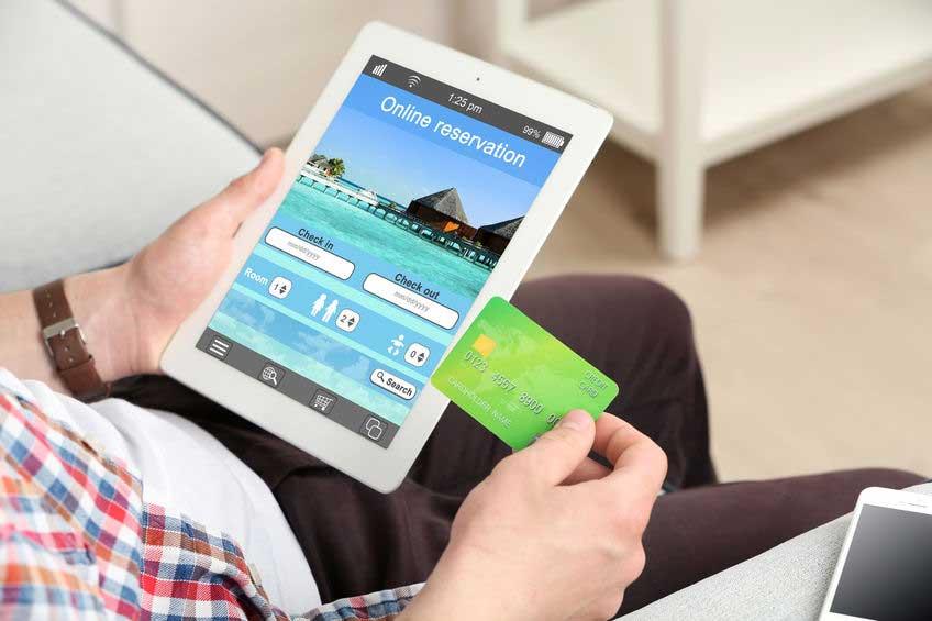 Online travel merchant accounts through Instabill