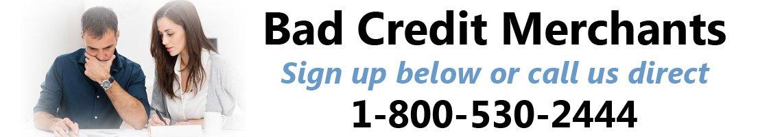 Bad credit merchant accounts by Instabill