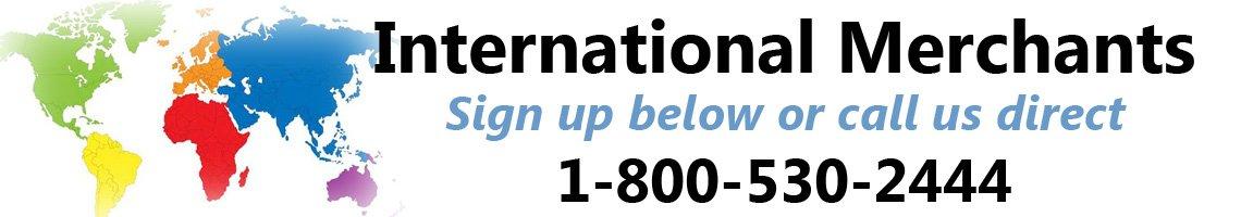International merchant accounts with Instabill