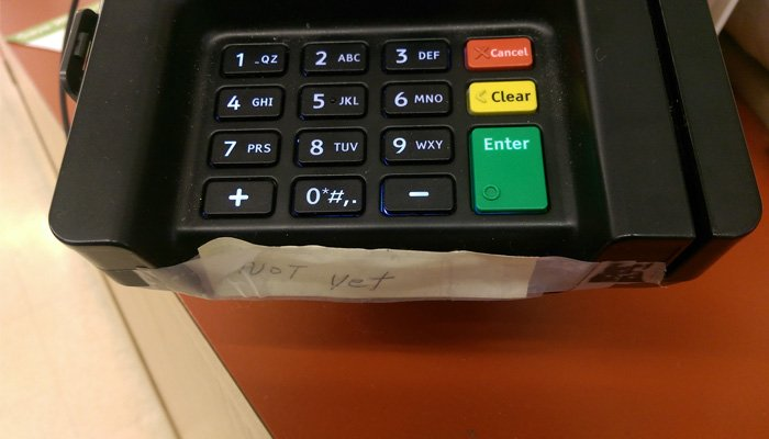 Why Aren't Retailers Using Their EMV Machines?